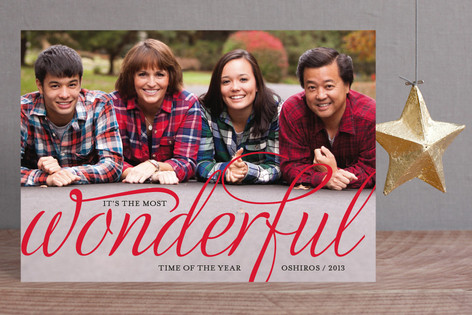 Wonderful Merry Holiday Postcards
