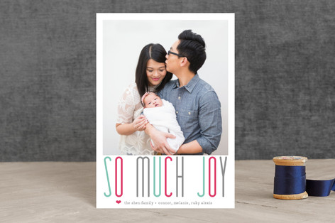 A Whole Lot of Joy Holiday Postcards