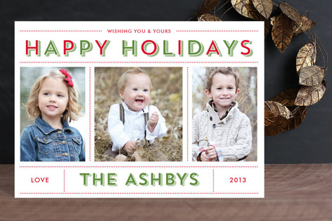 Bold & Bright Holiday Holiday Postcards