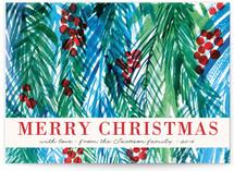 Holiday watercolors