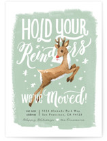 Hold Your Reindeers by Four Wet Feet Studio