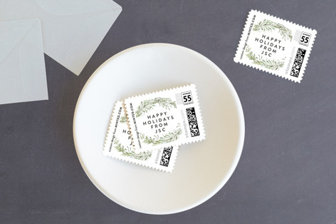 Terranium Holiday Stamps
