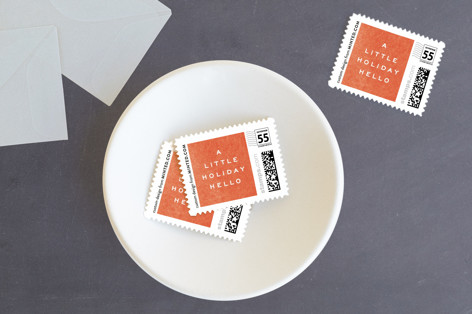 surround Holiday Stamps