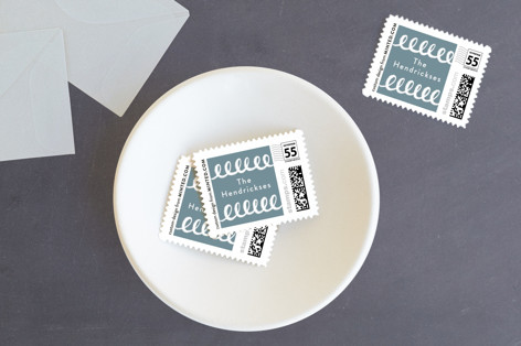 Made the Nice List Holiday Stamps