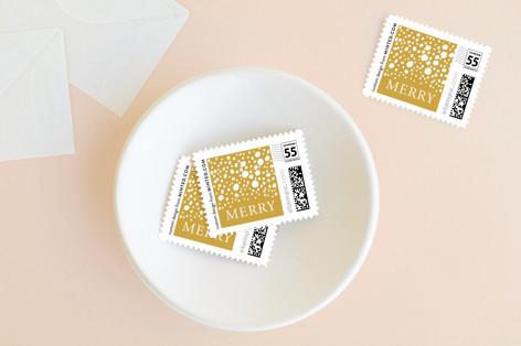 Shining bright holidays Holiday Stamps