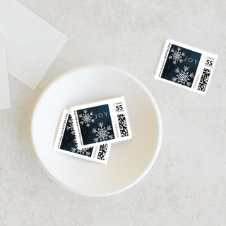CRYSTALS Holiday Stamps