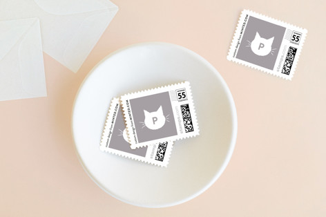 Meowy Holiday Stamps