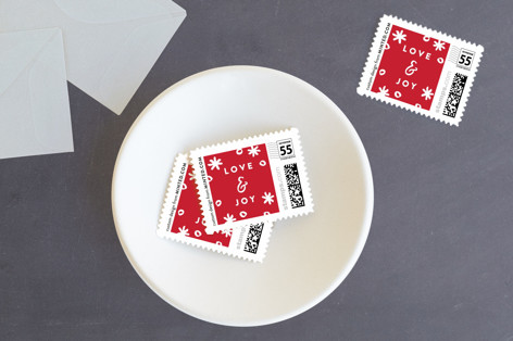 The Happiest Holiday Holiday Stamps