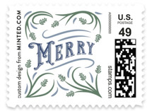 Go Tell it on the Mountain Holiday Stamps