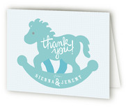 Rock-a-Bye Baby Shower Thank You Cards