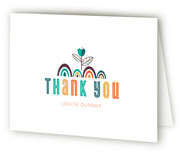 The Stork Baby Shower Thank You Cards