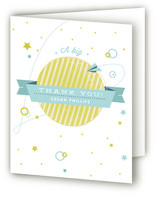 Over the Moon Baby Shower Thank You Cards