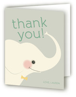 Elephant Showers Baby Shower Thank You Cards