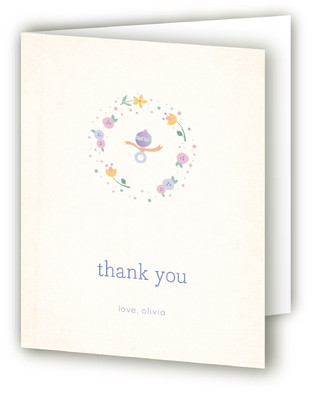 Sweet Sip & See Baby Shower Thank You Cards