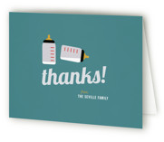 Cheers! Baby Shower Thank You Cards