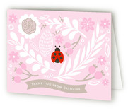 A Little Lady Baby Shower Thank You Cards