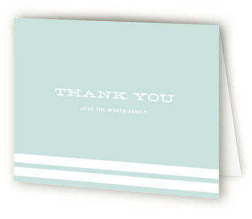 Rockabye Baby Baby Shower Thank You Cards