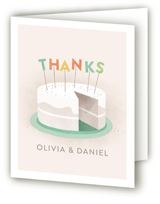 Sweet Baby Cakes Baby Shower Thank You Cards