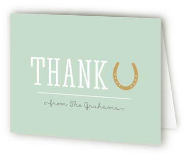 Sip & Say Howdy Baby Shower Thank You Cards