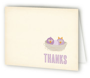 Welcome to the Nest Baby Shower Thank You Cards