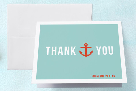 Baby on Board Baby Shower Thank You Cards