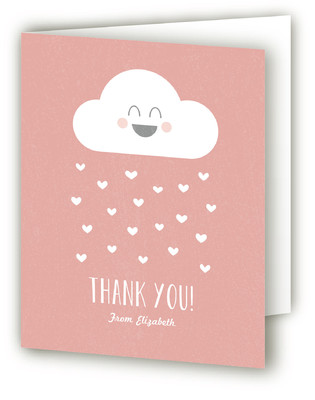 Baby Balloon Baby Shower Thank You Cards