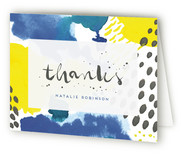 Cheerful Rain Baby Shower Thank You Cards