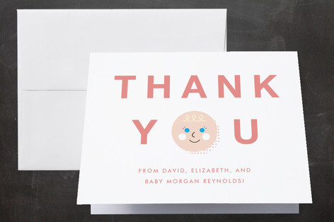 Hello Cutie Baby Shower Thank You Cards