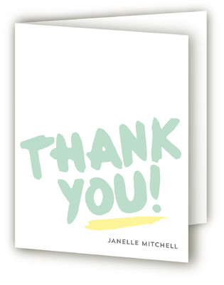 Hey Baby! Baby Shower Thank You Cards