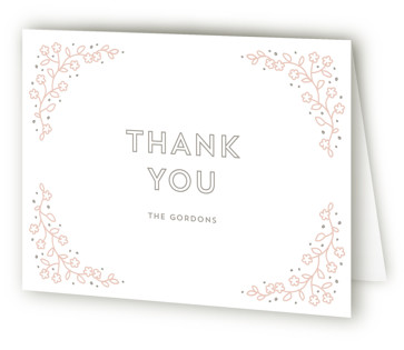 Rockabye Horse Baby Shower Thank You Cards