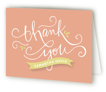Mom to Be Baby Shower Thank You Cards