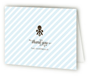 Petite Rattle Baby Shower Thank You Cards