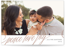 Simply Elegant Holiday Photo Cards