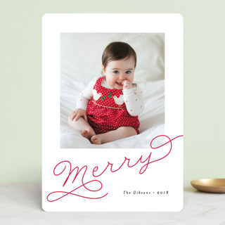 Adorably Merry Holiday Photo Cards