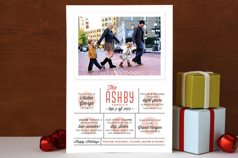 The Top Five Holiday Photo Cards