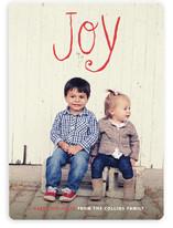 Pride & Joy Holiday Photo Cards