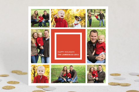 Bauhaus Holiday Photo Cards