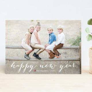 Simple Joy Holiday Photo Cards