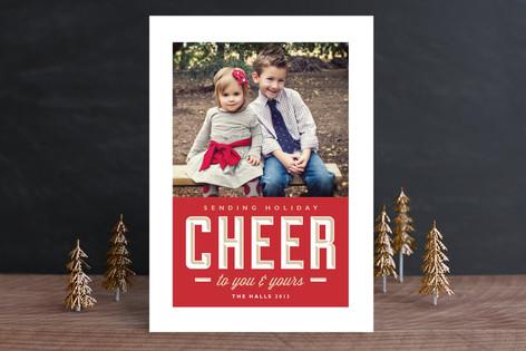 Sending Cheer Holiday Photo Cards