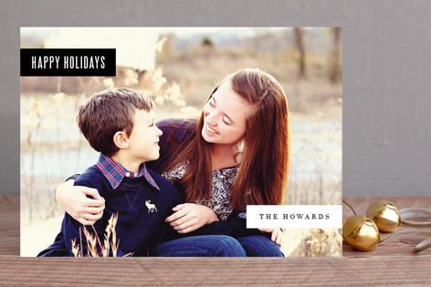 Multi Tab Holiday Photo Cards