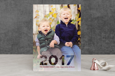 Metropolis Holiday Photo Cards