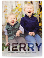 Metropolis Holiday Photo Cards