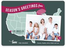 Holiday Map - West Coast