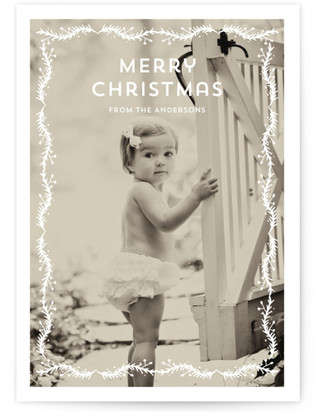 Papercut Holiday Photo Cards