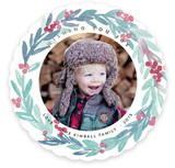 Wreath of Joy Holiday Photo Cards