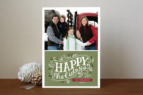 Holiday Celebration Holiday Photo Cards