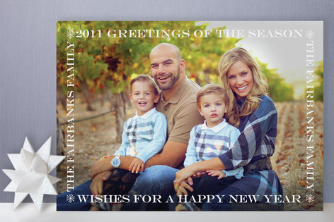 Simply Framed Holiday Photo Cards