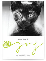 Peace, Love, & Yarn Holiday Photo Cards