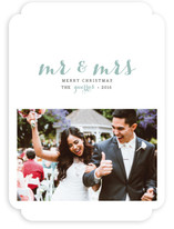 First Holiday as Mr. and Mrs