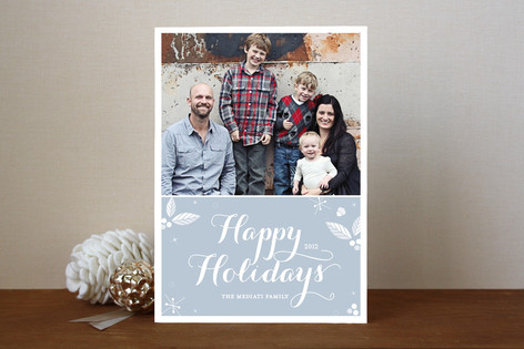 Simply Sweet Holiday Photo Cards